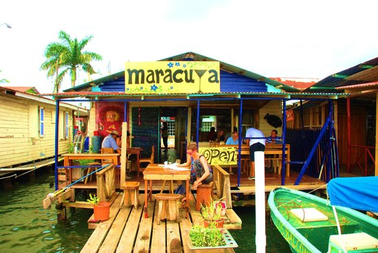 Maracuya Restaurant:                   Rear Deck