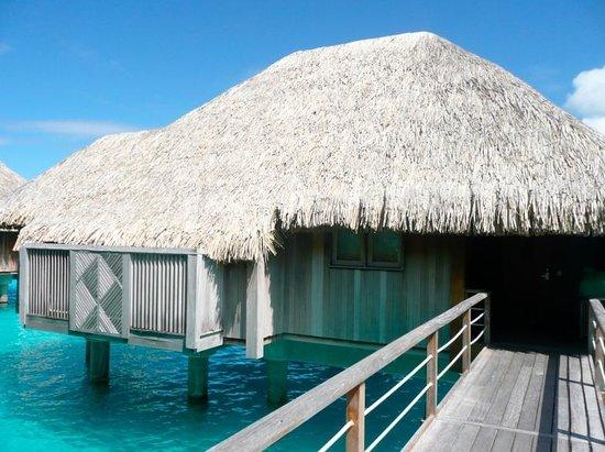 The St. Regis Bora Bora Resort: Our massive Premium Overwater Bungalow!