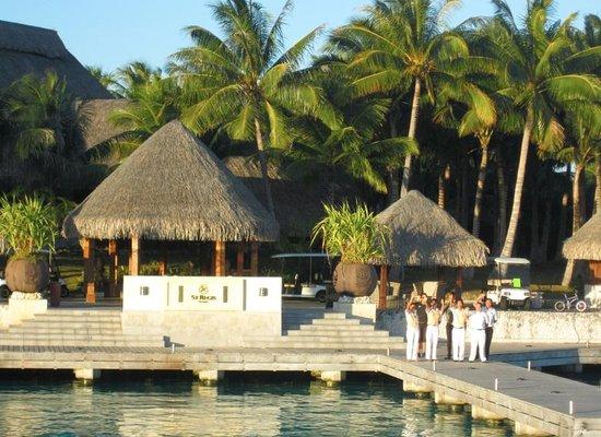 The St. Regis Bora Bora Resort: Saddest day of my life: waving goodbye to the St Reeg