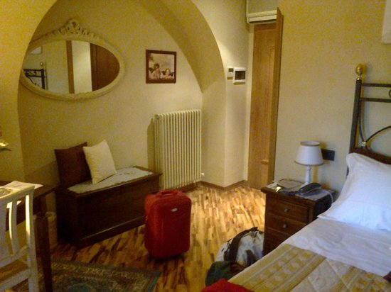 Agriturismo Angeli Biondi:                   camera I piano