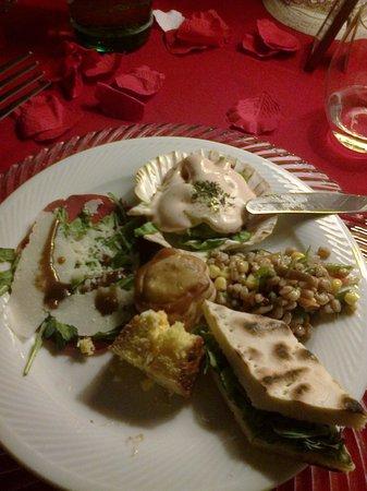 Agriturismo Angeli Biondi:                   la cena di san valentino! buonissimaaa