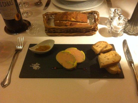 Au Petit Paris: Pate de foie gras