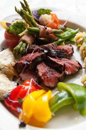 Michael's on the Thames: Chateaubriand for two prepared tableside