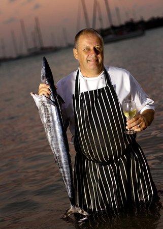 The Beach Club at Calabash: Chef Mark B