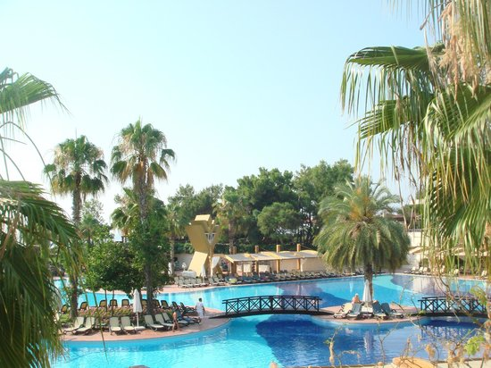 Rixos Premium Tekirova:                   A  man-made river  full of fish and tortoises