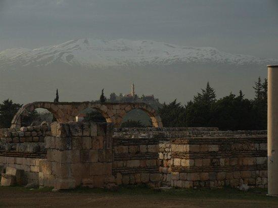 Umayyad Ruins of Aanjar:                   View