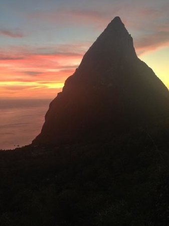 Ladera Resort:                   sunset