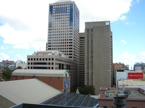 Meriton Suites Campbell Street, Sydney:                   view from balcony