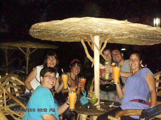 Ceviche y cocteles El Pollo:                                                       enjoy the bes place in masaya