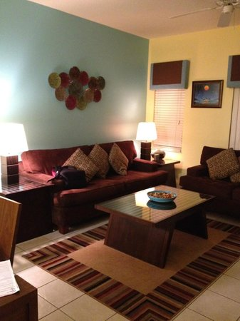CLC Encantada Resort: living room