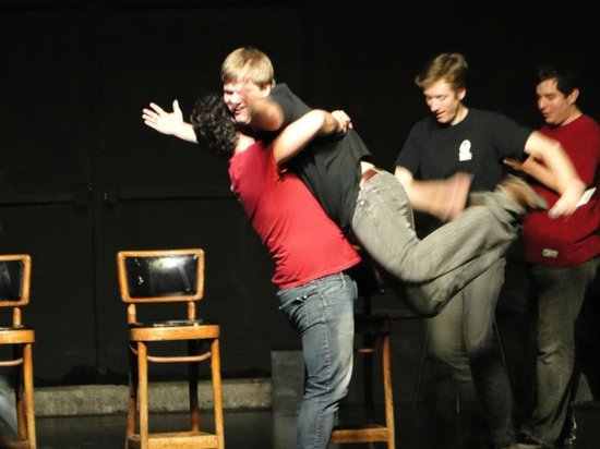 Firehouse Theater: Bit Players: hilarious & fast-paced wit every Fri & Sat at the FHT. Live Improv Comedy! BYOB!
