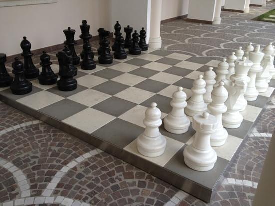 Continental Terme Hotel:                   scacchiera