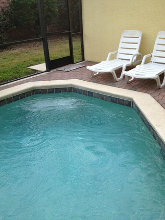CLC Encantada Resort: private pool (more like a hot tub)