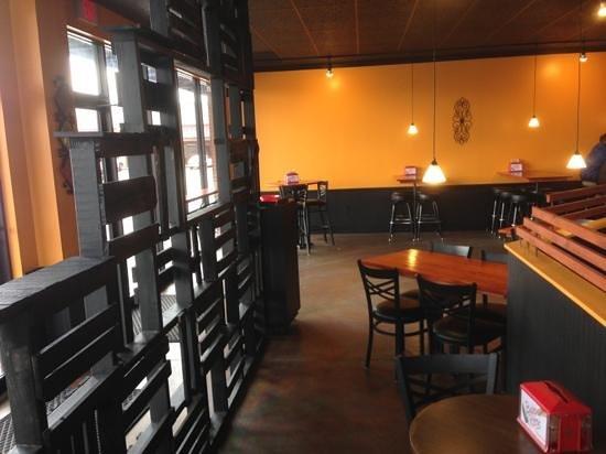 Bubba Ritos Southwest Grub:                                     Inside