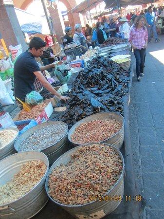 Plaza de la Torreon:                   More beans abd chilis