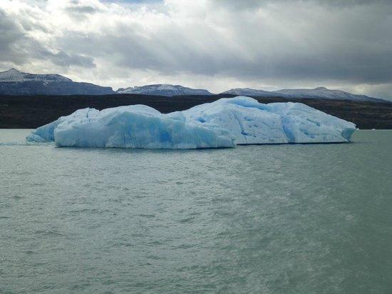 Calafate Parque Hotel:                   Floating Iceberg in Lago Argentino - Calafate
