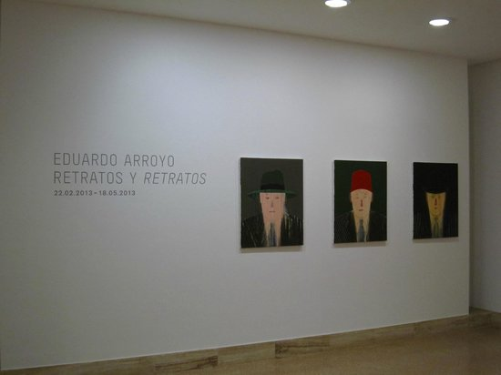 Museu d'Art Espanyol Contemporani - Fundacion Juan March: Entrance to Arrogo temporary exhibition