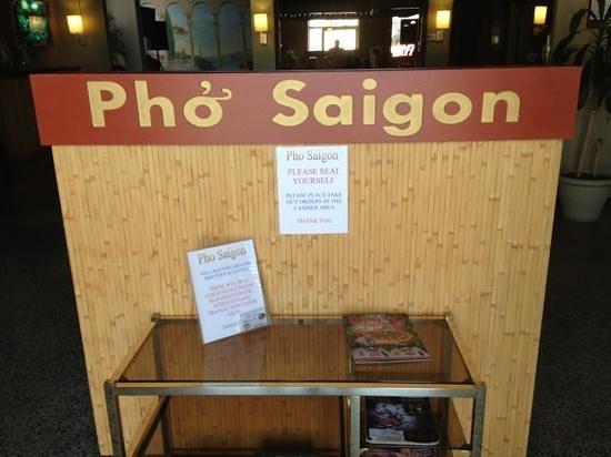 Pho Saigon Vietnamese Cuisine:                   Front Entrance