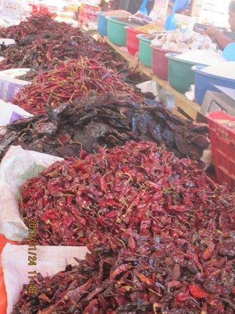 Plaza de la Torreon:                   Yep, chilis