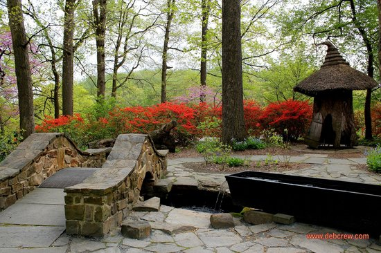 Winterthur Museum, Garden & Library:                   Asian Garden or a child's make-believe getaway