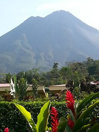 Arenal Volcano Inn:                                     volcano view