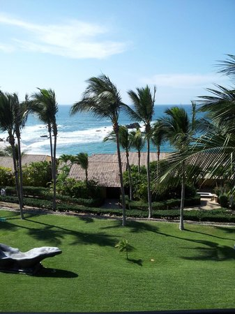 Four Seasons Resort Punta Mita:                   Veiw from 3rd floor room on one of the sections, 1 min walk from lobby