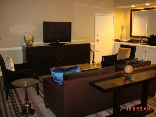 Boulder Station Hotel and Casino:                   Suite 1607 - living room