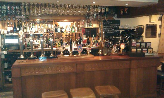 Old Hall Inn:                   The main Bar