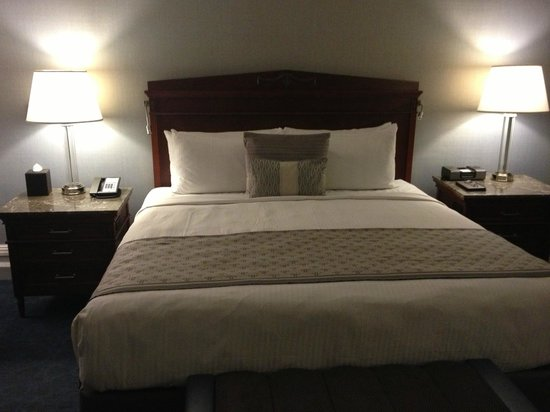 Fairmont Copley Plaza, Boston:                   The new beds are super comfortable