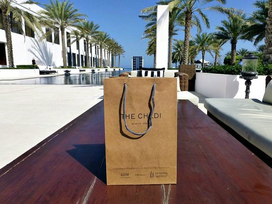 The Chedi Muscat – a GHM hotel:                   Shopping at the chedi!