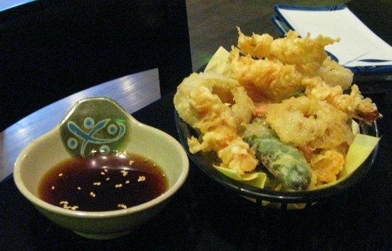 Tiga Sushi Bar & Japanese Restaurant:                   Vegetable and Shrimp Tempura