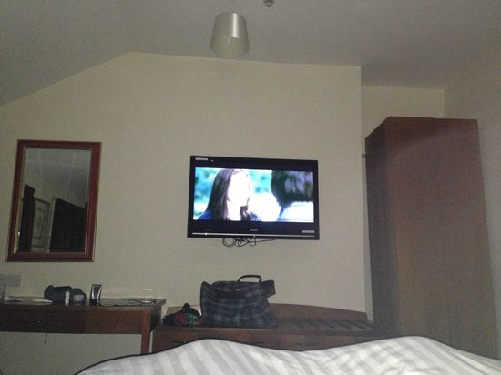 The Vaults:                   My room and tv