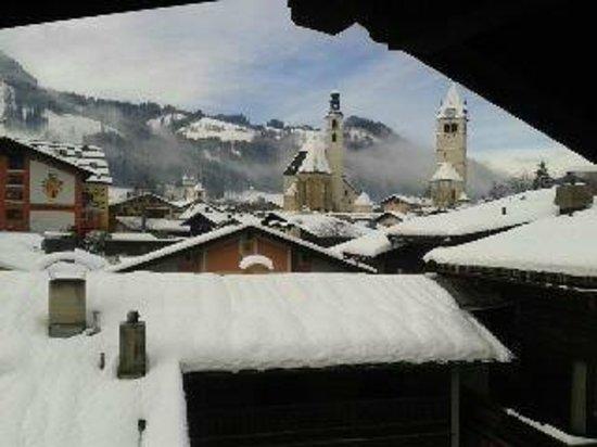 Hotel Gamshof:                   View