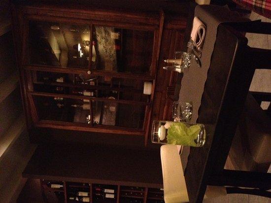 La Ferme du Vert : Restaurant