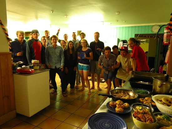 Pacific Coast Lodge and Backpackers: International Dinner Nights > Once a month!