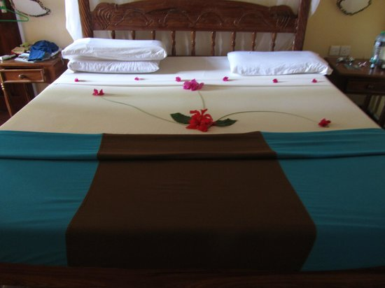 Aquarius Watamu Beach Resort:                   il letto grazie david