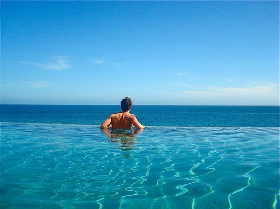 Grand Solmar Land's End Resort & Spa:                   Infinity Pools. (Hottie Not Included!)