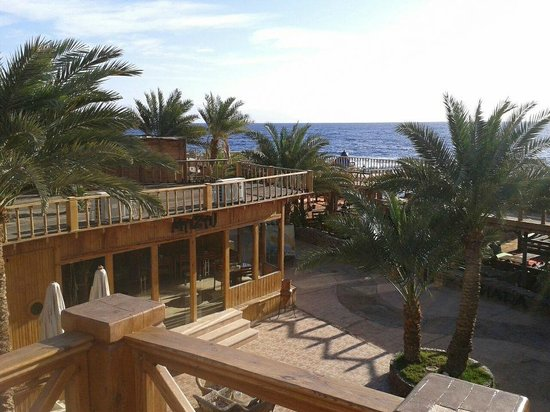 Acacia Dahab Hotel:                   View from Royal Suite balcony