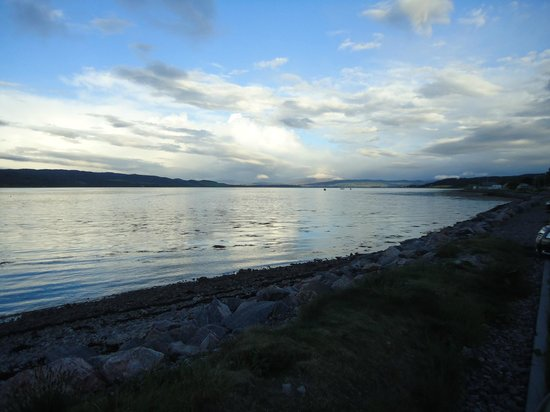 North Kessock Hotel:                   View from roadway