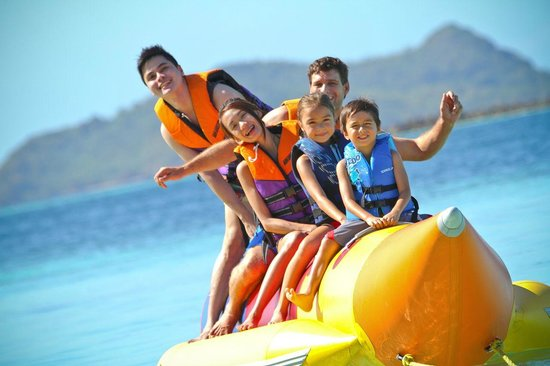 Two Seasons Coron Island Resort & Spa: Banana Boat