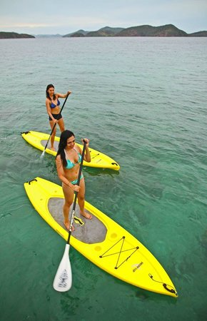 Two Seasons Coron Island Resort & Spa: Stand Up Paddle Boards