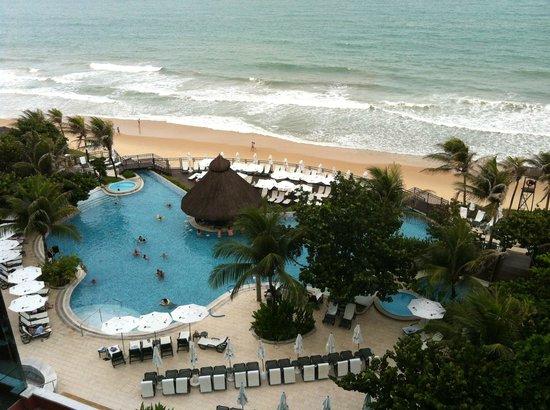 SERHS Natal Grand Hotel:                   Vista do quarto