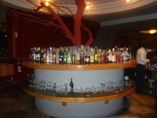Grand Oasis Cancun :                   VIP bar