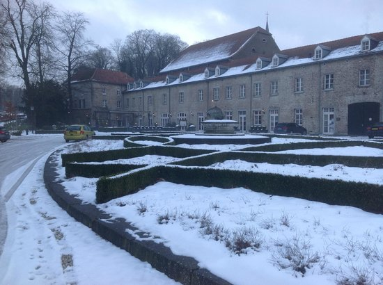 Kasteel Elsloo in Winter