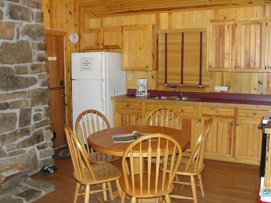 Devil's Den State Park: Kitchen, cabin #10