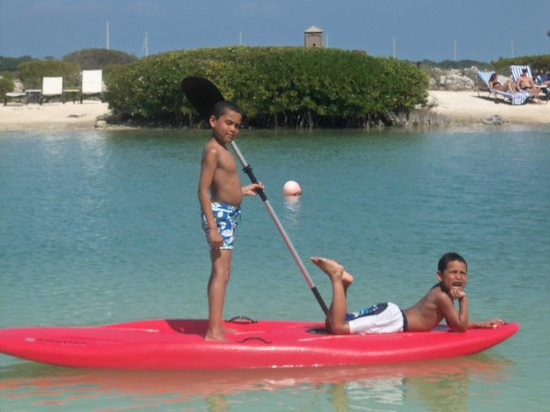 Hawks Cay Resort: Saltwater laggon