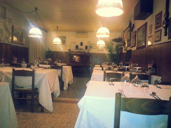 """Goito, Italia: Sala da pranzo """"luccio"""""""