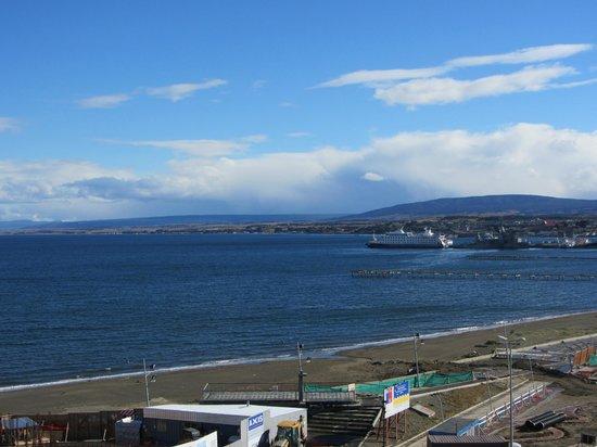 Diego de Almagro Punta Arenas: vista desde la habitación