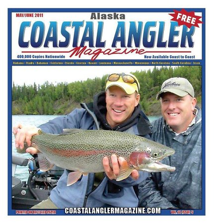 Jimmie Jack's Alaska Lodge: In The News - Coastal Angler Magazine