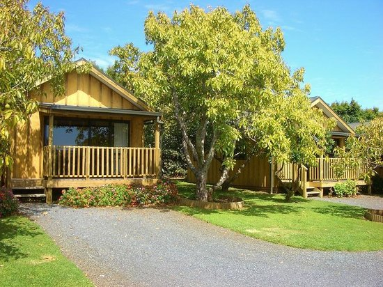 Motel Kerigold Secluded Chalets : Typical guest chalet